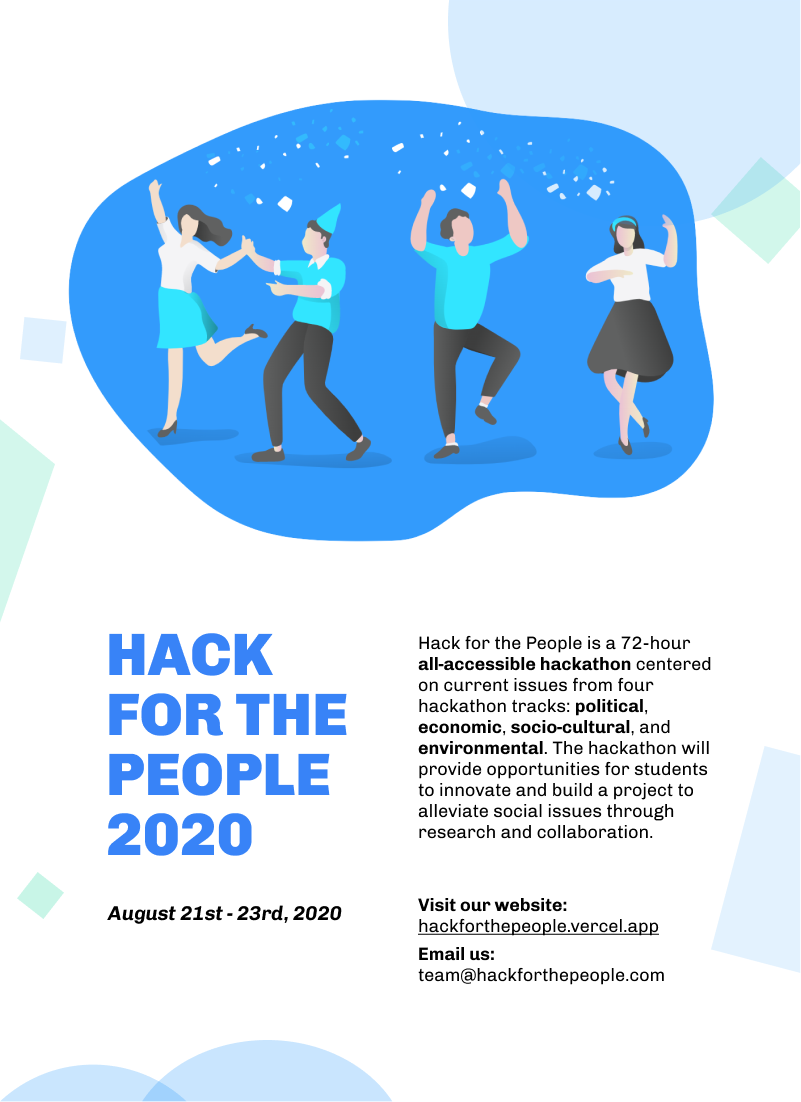 Hack for the People Flyer