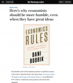 Here's why economists should be more humble, even when they have great ideas