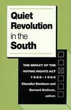 Race and Voter Registration in the South Before and After the Voting Rights Act