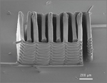 3D Printing of Interdigitated Li-Ion Microbattery Architectures