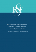 RSF: The Russell Sage Foundation Journal of the Social Sciences: Severe Deprivation in America, Volumes 1 & 2