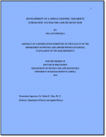Cancer phd thesis
