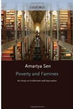 poverty and famines an essay on entitlement and deprivation  poverty and famines an essay on entitlement and deprivation
