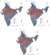 Precision mapping child undernutrition for nearly 600,000 inhabited census villages in India