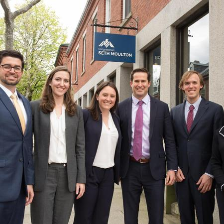 North-South Rail link team with Rep Seth Moulton