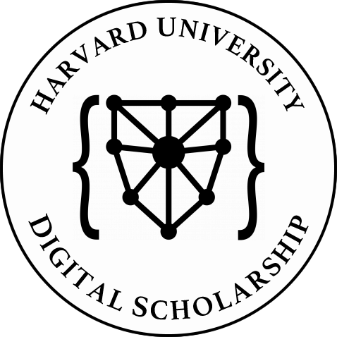 Digital Scholarship at Harvard - supported by the Harvard University Digital Scholarship Support Group