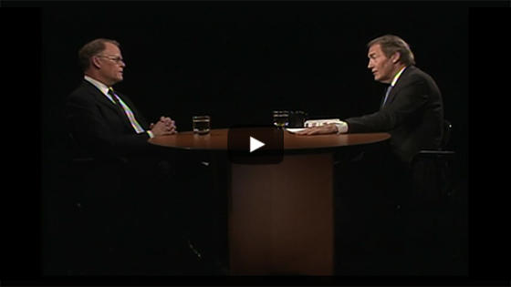 Professor Kloppenburg and Charlie Rose interview