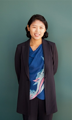 Photograph of Jinah Kim