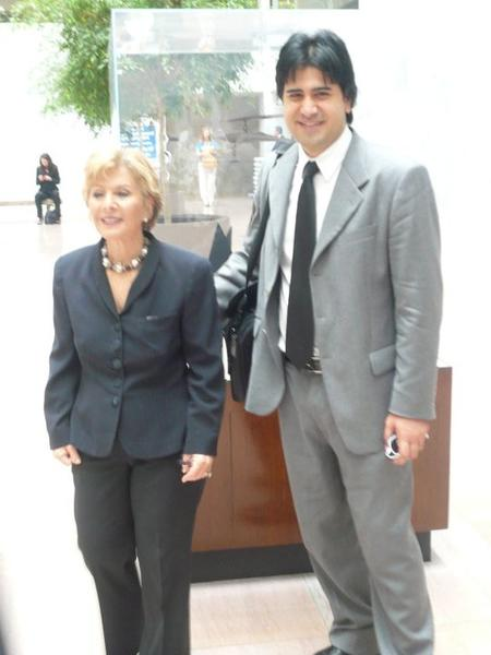 US Senator and DR. Rafizadeh