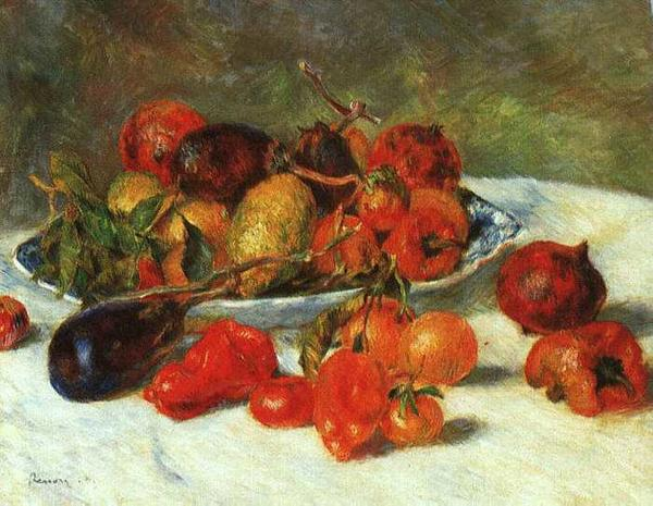 PIERRE AUGUSTE RENOIR (1841-1919) 'Fruits of the Midi', 1881 (oil on canvas)