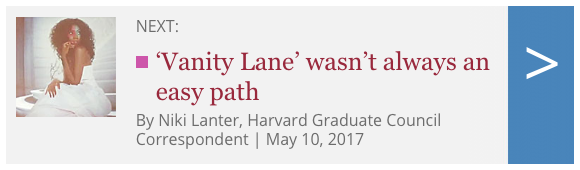 Harvard Gazette Vanity Lane Next Article