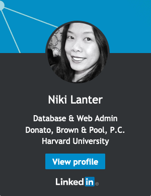 Niki Lanter on LinkedIn