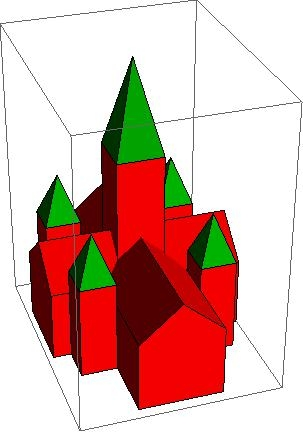 Rendition of Annenberg using Mathematica