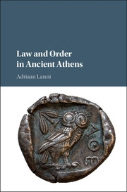 Law and Order in Ancient Athens cover image
