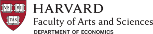 Harvard Faculty of Arts and Sciences, Department of Economics