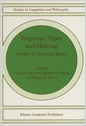 Properties, Types and Meaning