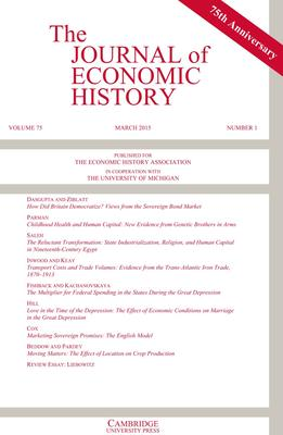 journal of econ history