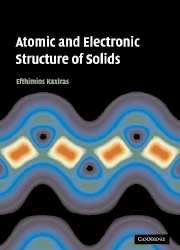 Atomic and Electronic Structure of Solids