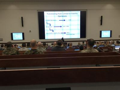 Law of War Lecture Photo