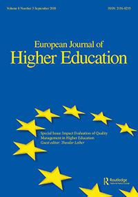European Journal of Higher Education | Manja Klemenčič