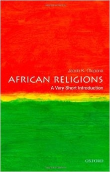 African Religions: A Very Short Introduction Book Cover