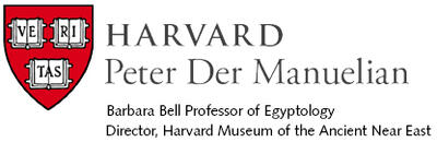 Peter Der Manuelian, Barbara Bell Professor of Egyptology