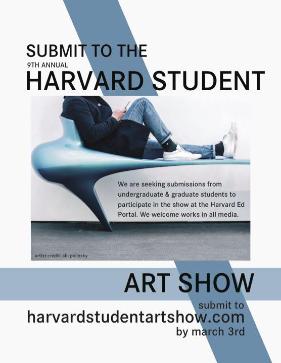 9th Harvard Student Art Show