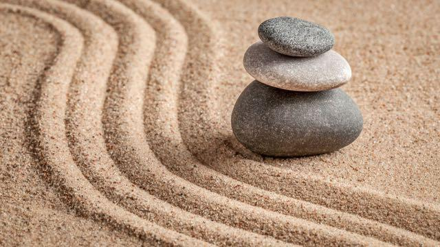 Zen Garden for Meditation