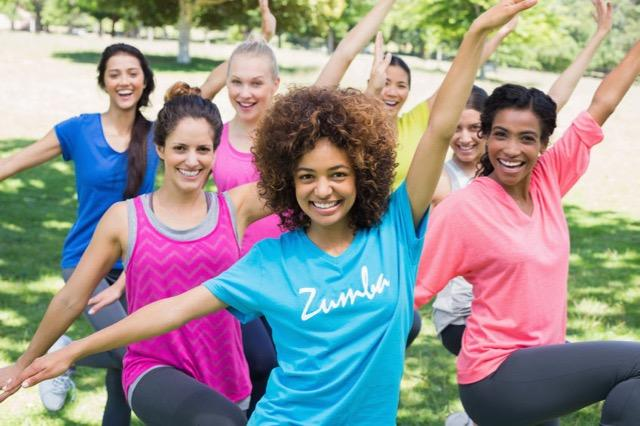 Zumba Fitness Outdoors