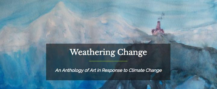 Weathering Change: An Anthology of Art in Response to Climate Change (Illustration by Remi Gosselin, College '18)