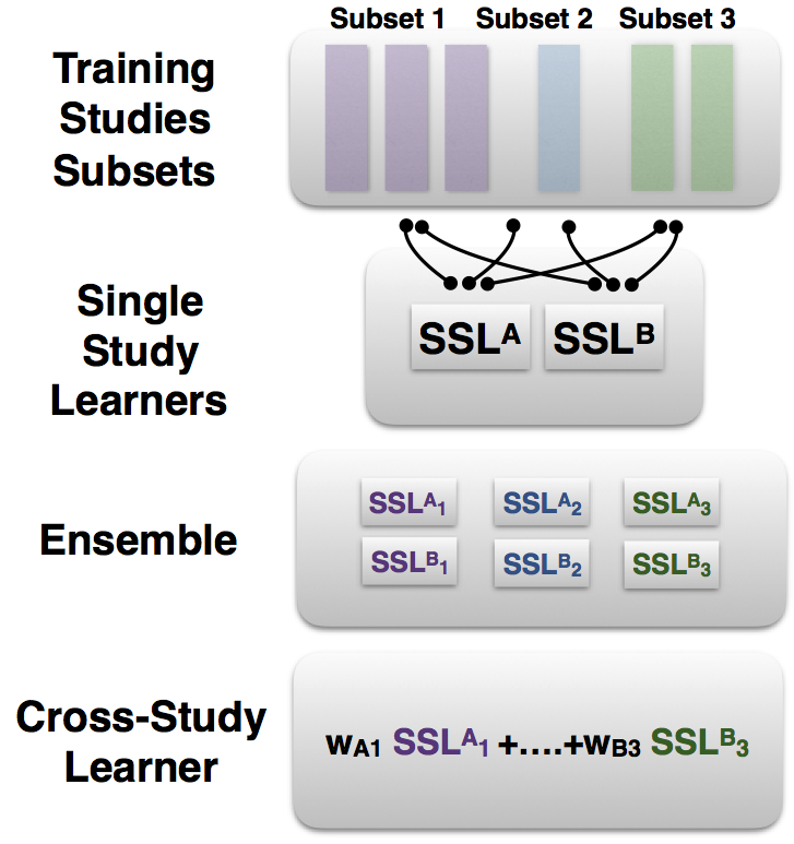 Architecture of Cross-Study Machine Learning Algorithms