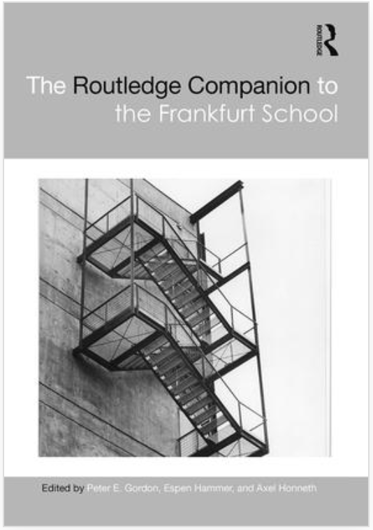 Routledge Companion to Frankfurt School