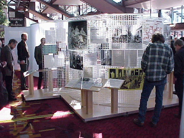 APS Centennial exhibition crowds 1999