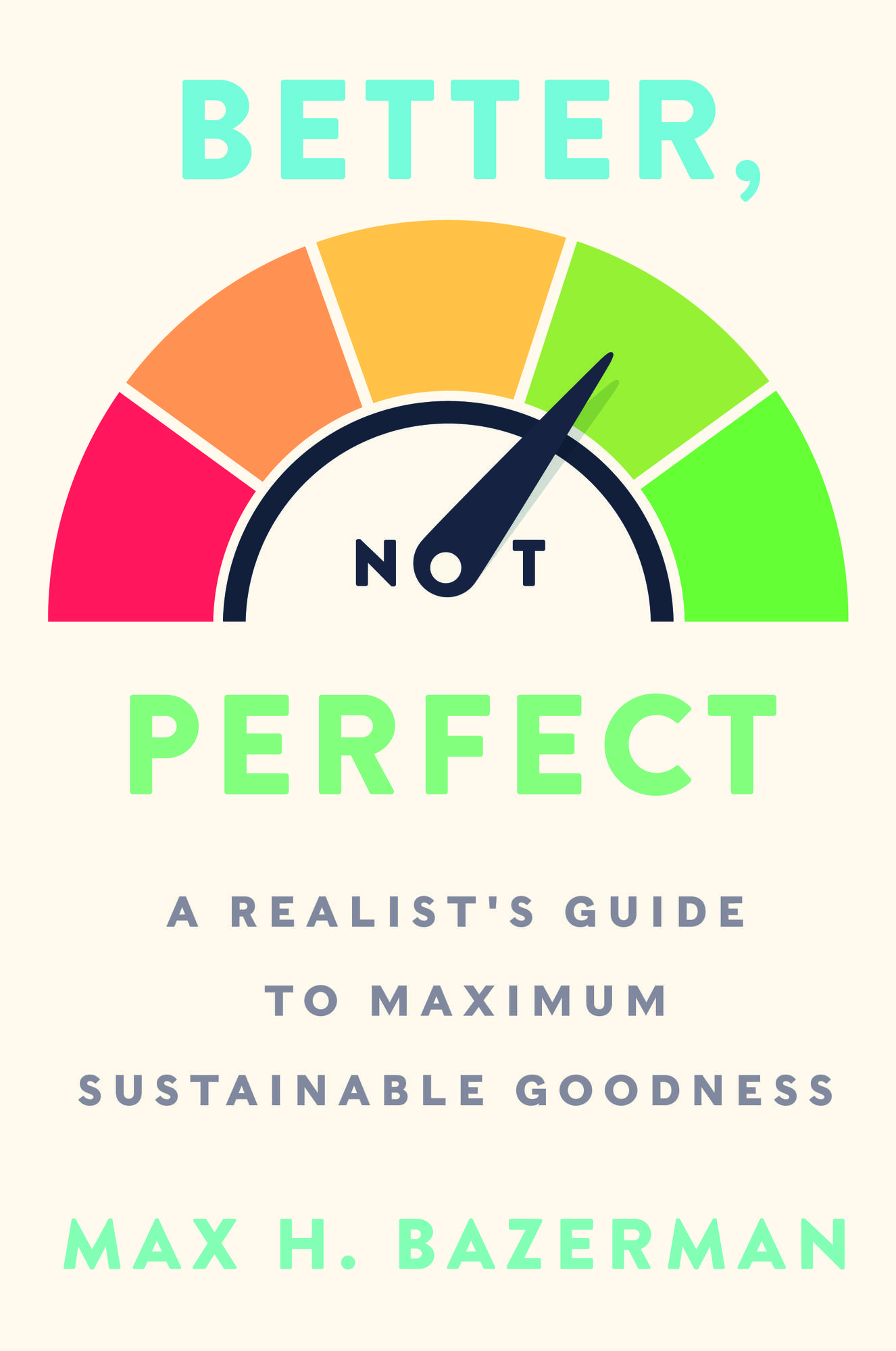 Better Not Perfect book cover