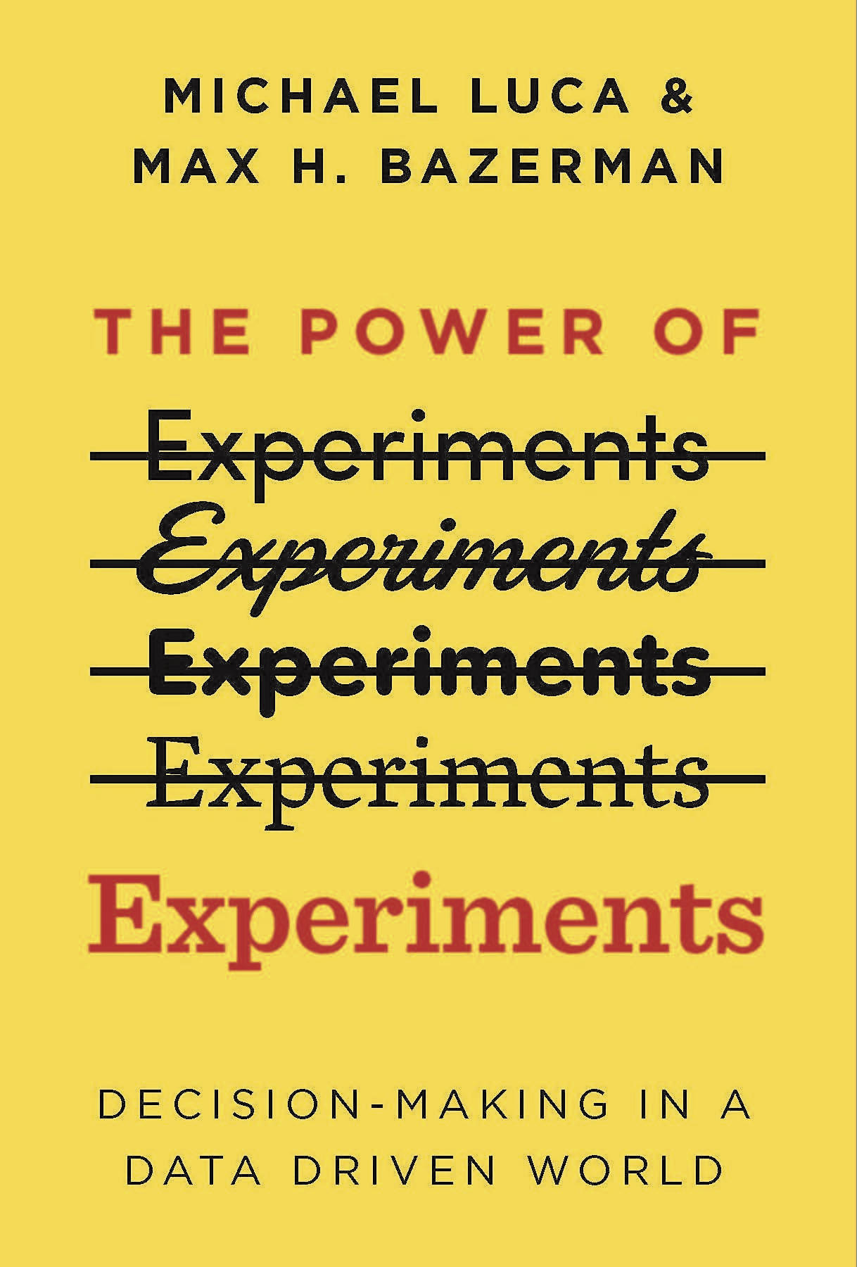 The Power of Experiments book cover