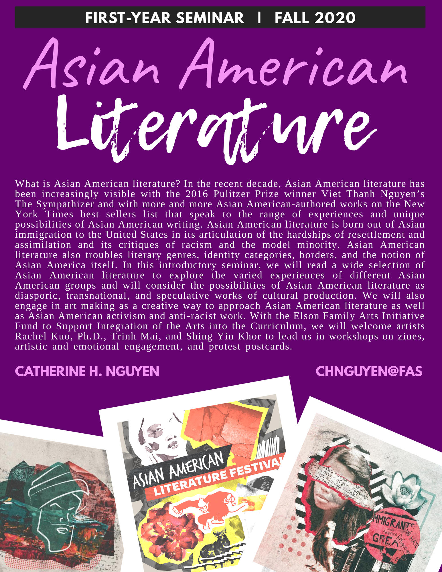 Asian American Literature Flyer