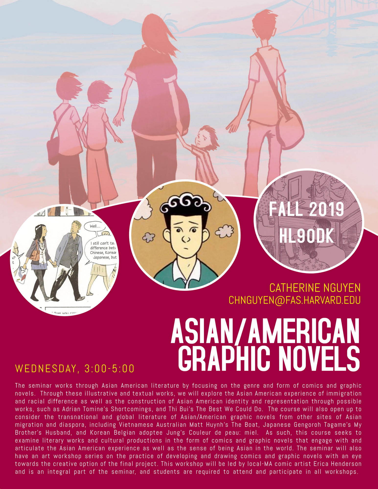HL90DK Asian/American Graphic Novels