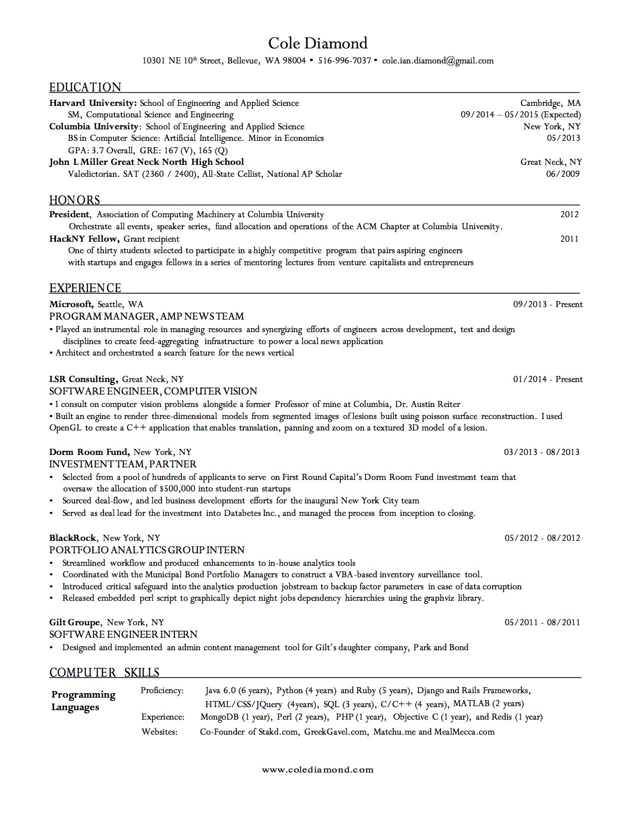 harvard style resume expert preferred resume templates resume