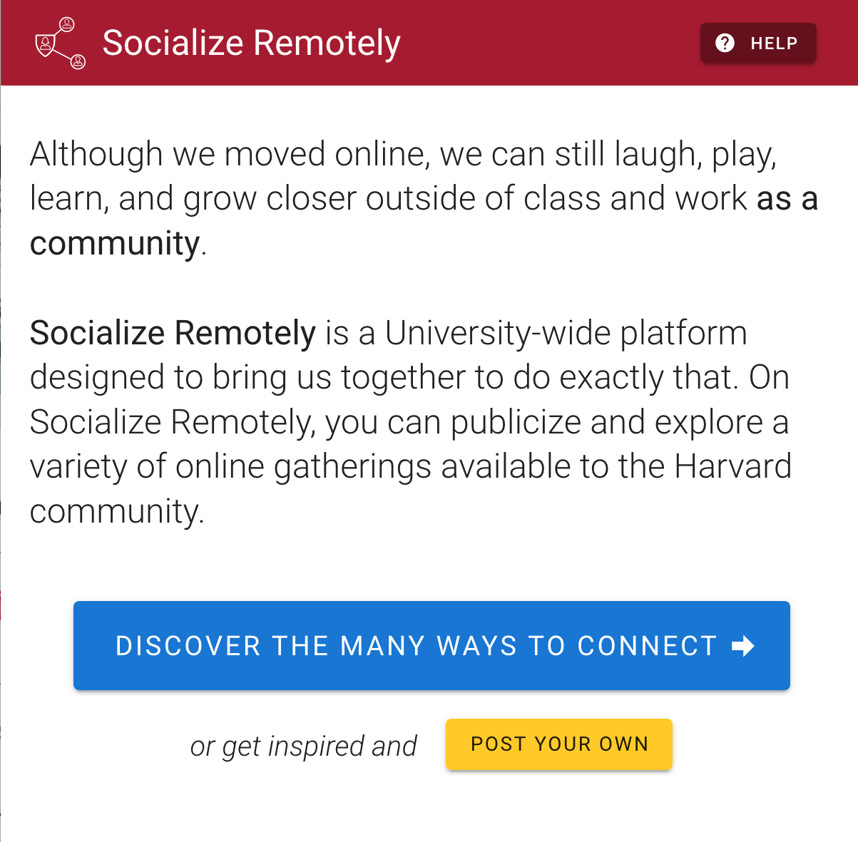 socializeremotely