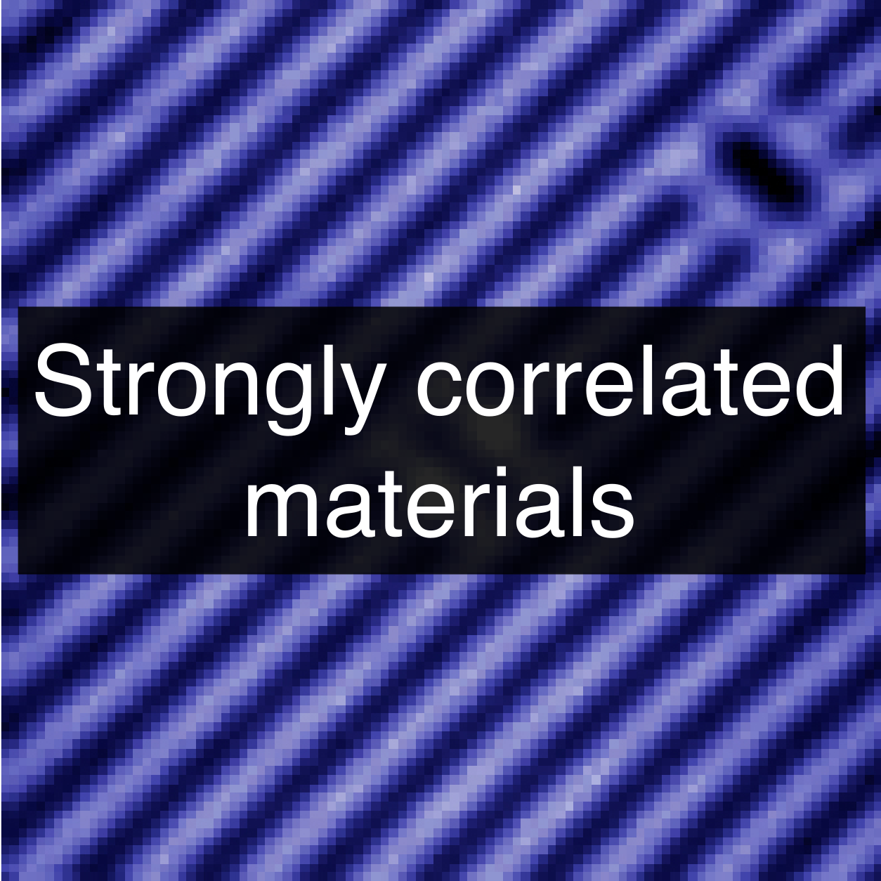 Strongly correlated electrons page link