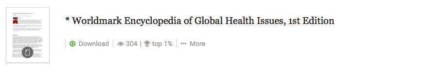 Global Health Issues