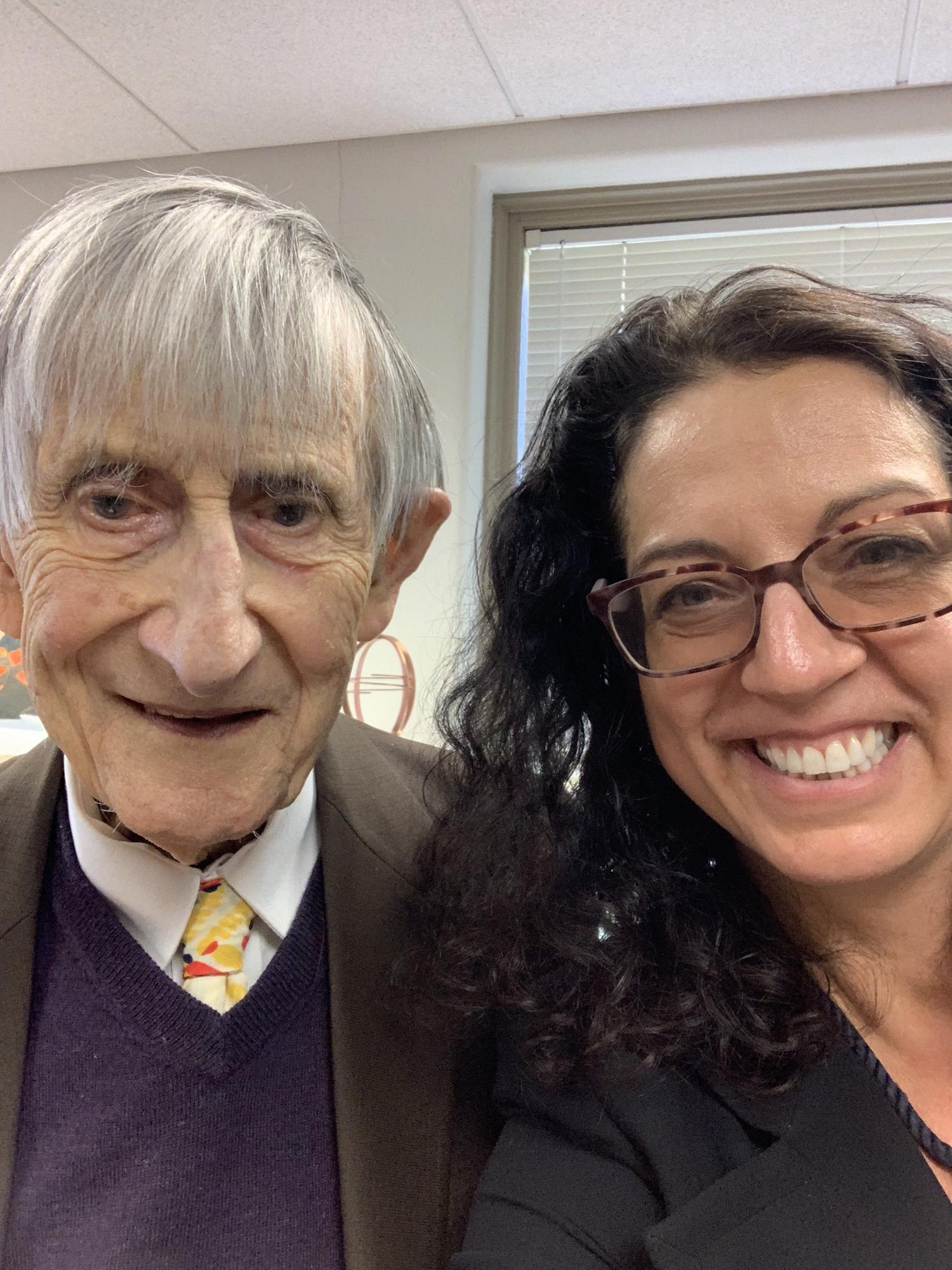 Freeman Dyson and Kristen Ghodsee 4
