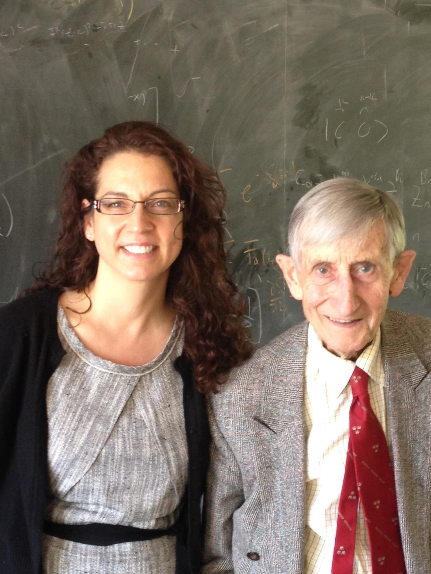 Freeman Dyson and Kristen Ghodsee 2