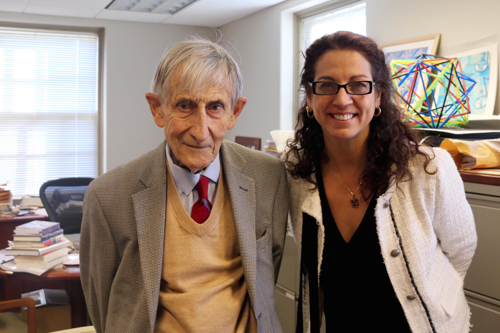 Freeman Dyson and Kristen Ghodsee 1