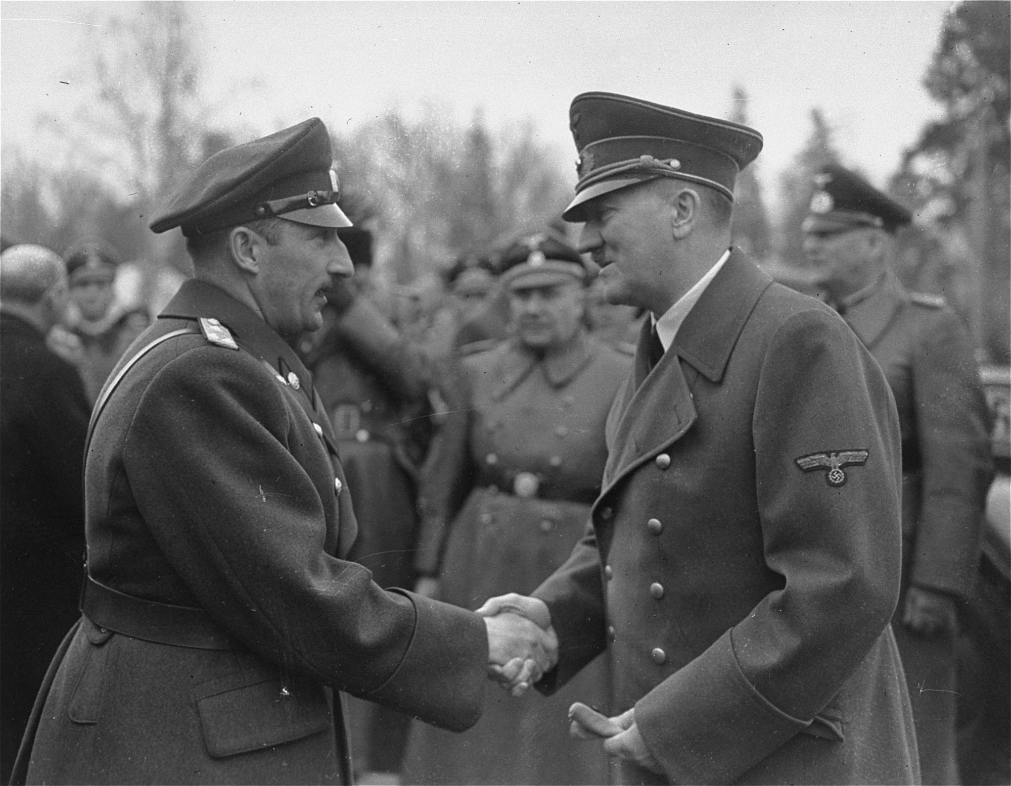Hitler and Boris III