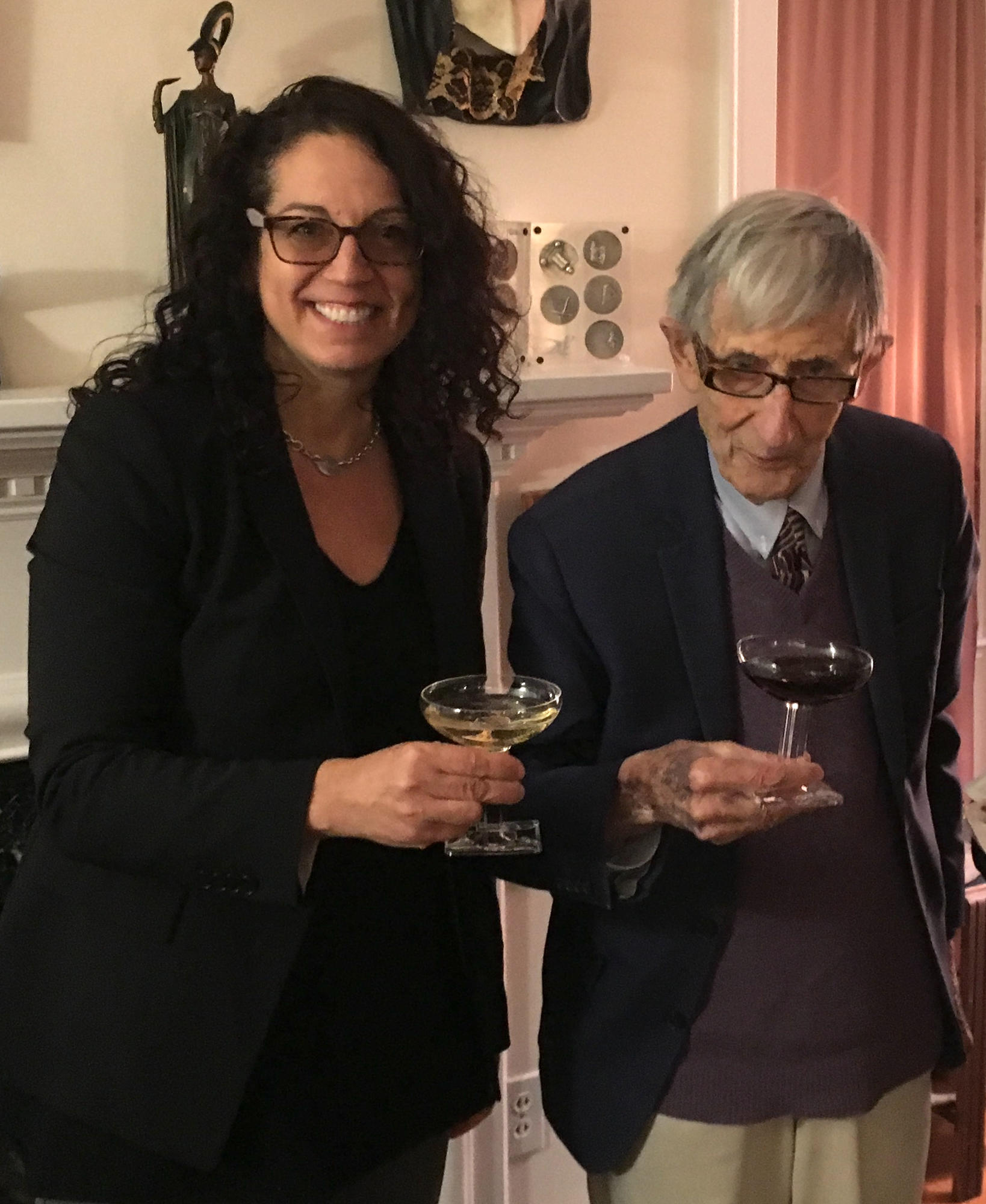 Freeman Dyson and Kristen Ghodsee 3