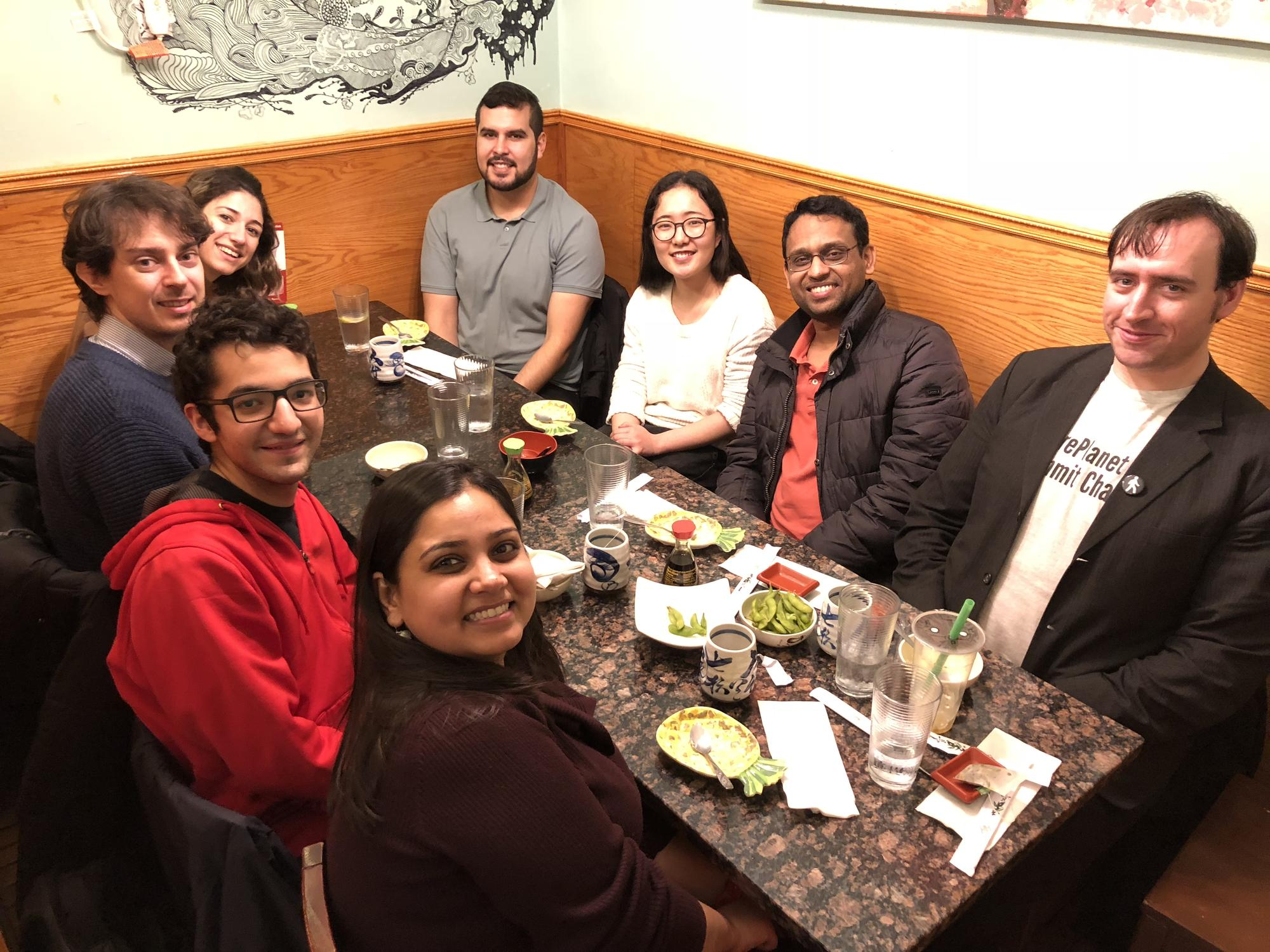 Farhat Lab Lunch