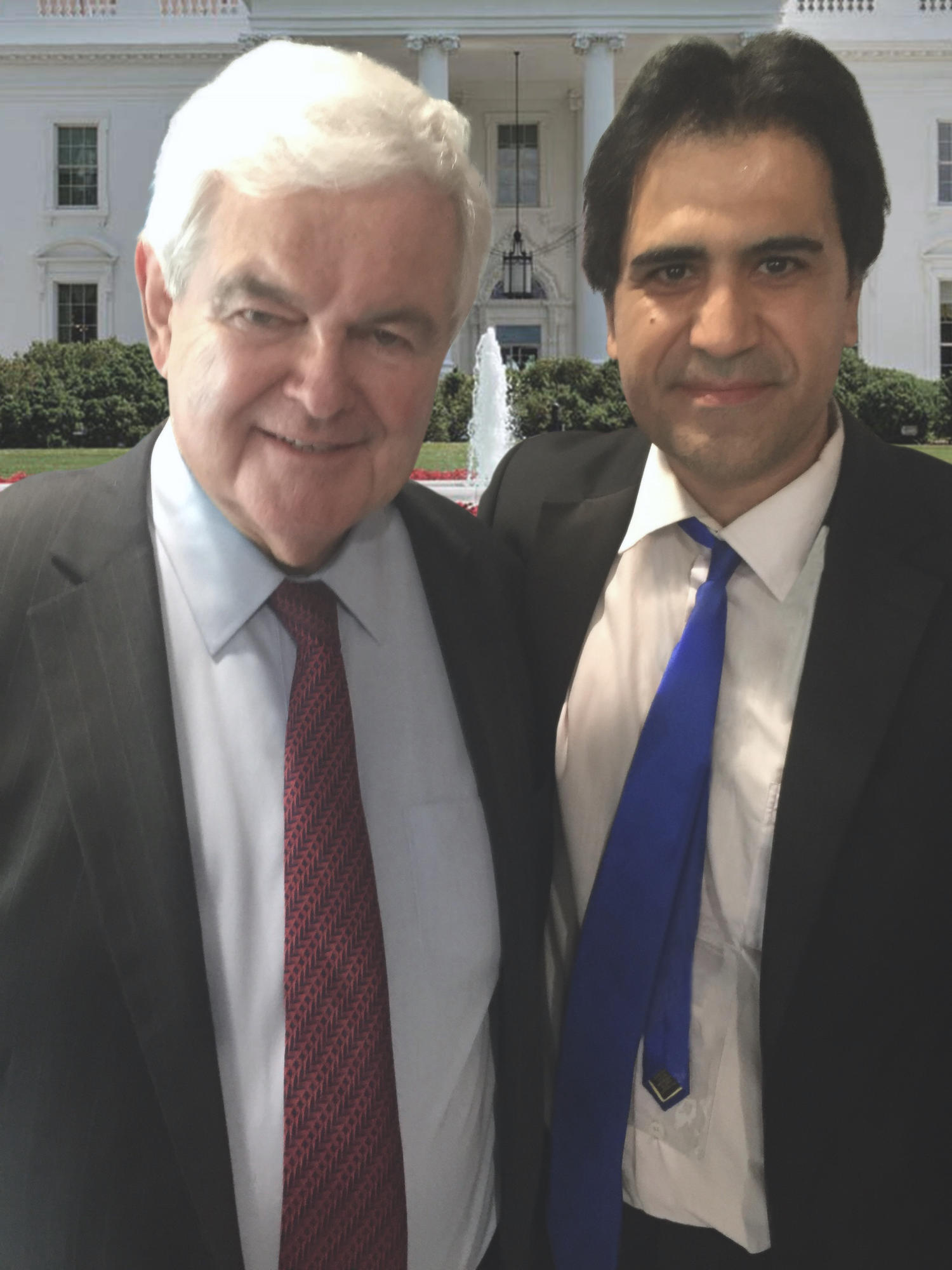 On the US and Middle East policies, Newt Gingrich, 50th Speaker of the United States House of Representatives and former U.S. presidential candidate