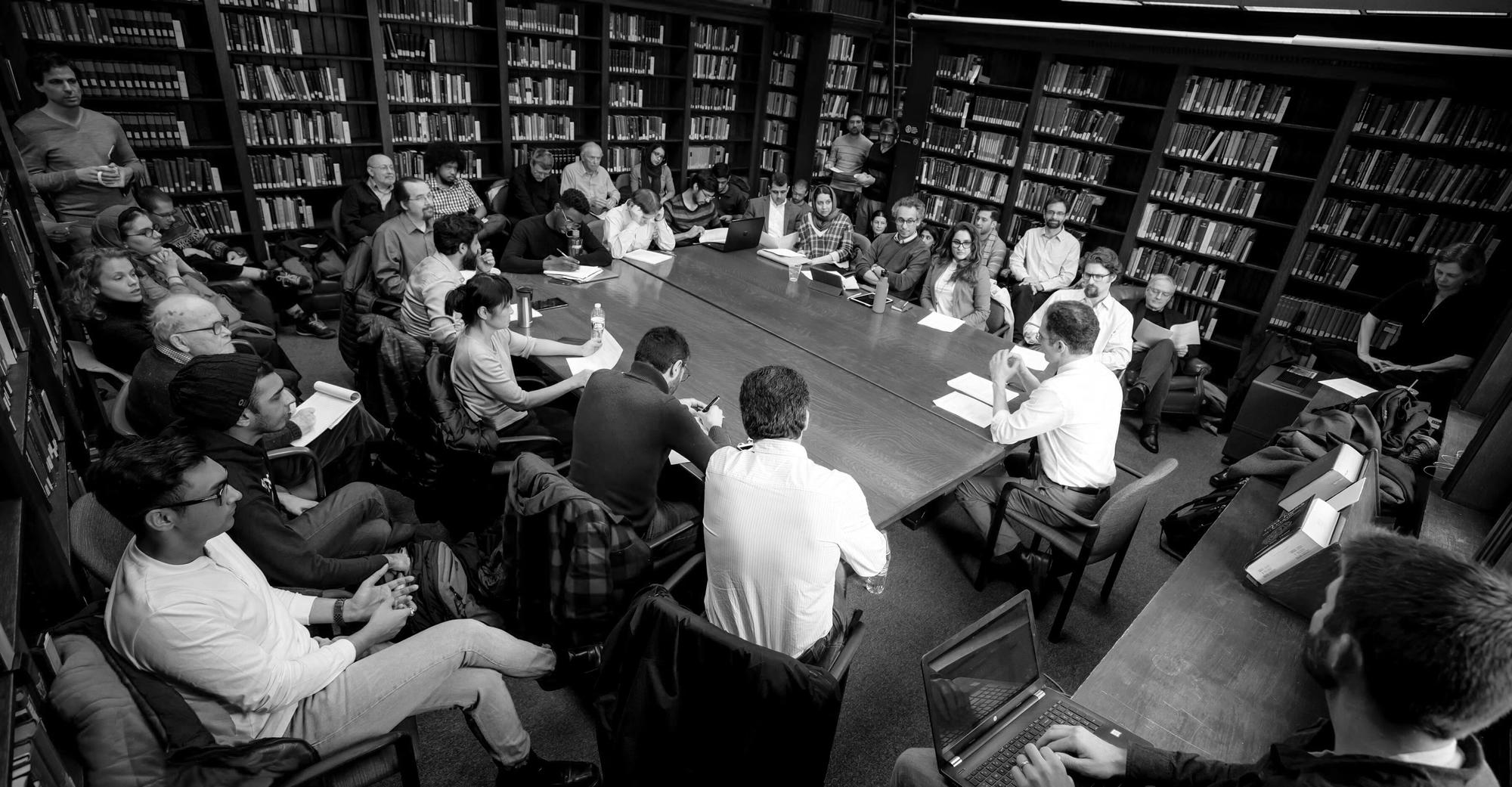 history of philosophy workshop in black and white