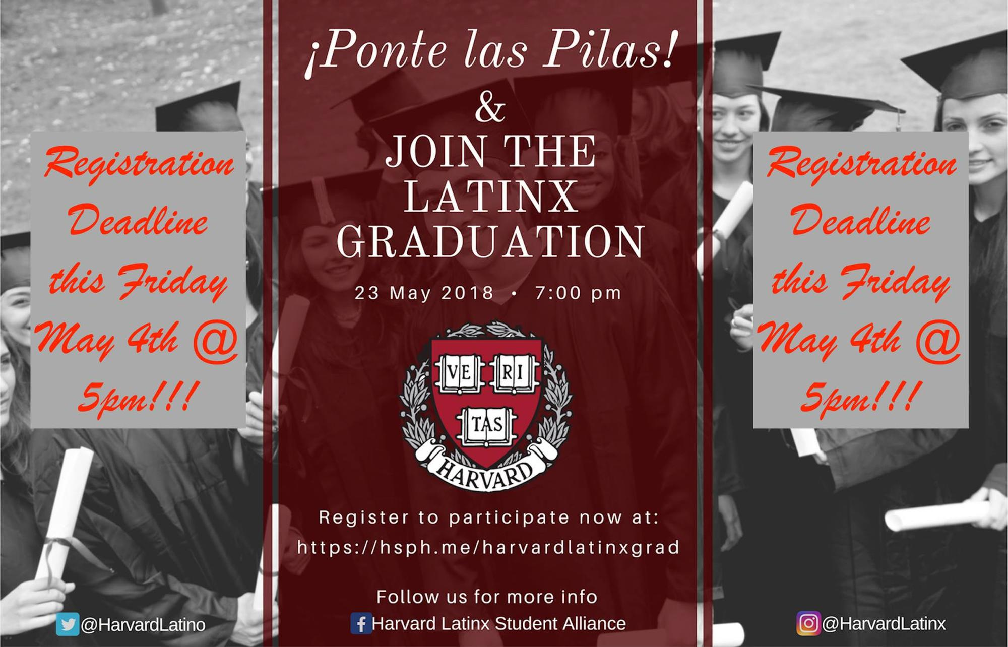 2018 Harvard LatinX Graduation
